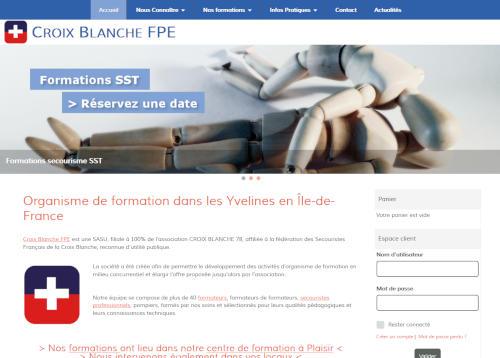 Création de sites internet - croixblanche-fpe.fr