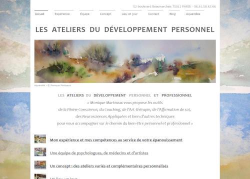 Création de sites internet - lesateliersdudeveloppementpersonnel.com