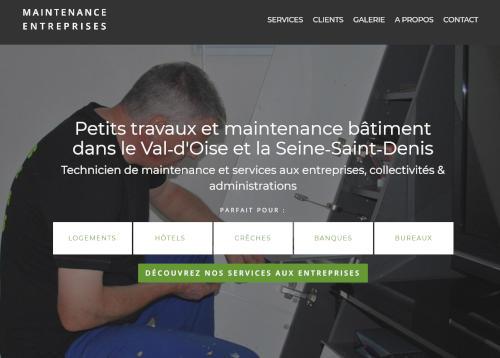 Création de sites internet - maintenance-entreprises.fr