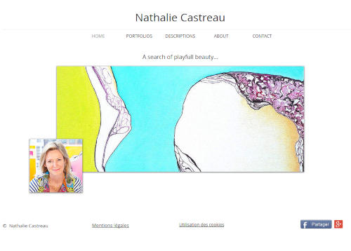 Création de sites internet - nathaliecastreau.com